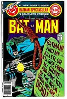 DC SPECIAL SERIES #15 BATMAN SPECTACULAR NM- 68 Pages! Summer 1978 DC High Grade