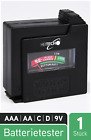 HEITECH Akku, Batterie & Knopfzelle Tester - Universal Batterietester & Akkutest