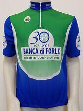 MAGLIA SHIRT CICLISMO 30° BANCA DI FORLI RE ARTU TG.54 CYCLING BIKE CYCLES ES24