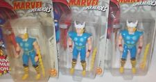 ✰ Marvel THOR SMASHING HAMMER figure 1991 Toybiz MISP LONG LIGHTNING BOLT versio