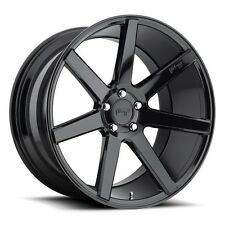 "4wheels 20"" Staggered Niche Wheels M168 Verona Gloss Black Rims w/ Tires"