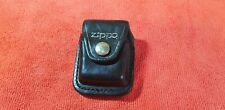 Etui Cuir Zippo briquet lighter vintage