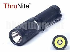 Thrunite Ti3 Cree XP-G2 R5 CW Cool White LED 120lm 4M Flashlight Black