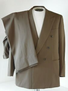 BRIONI Roman Style Green double breasted 42 regular 36x30