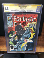 CGC 9.8 SS 1985 Fantastic Four #278-  Signed By Stan Lee. Marvel