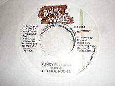 George Nooks 45 Funny Feelings BRICK WALL