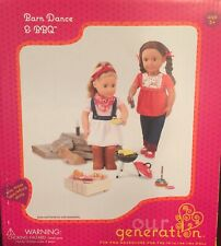 Our Generation Barn Dance BBQ 18 inch Doll Play Food Grill Play set