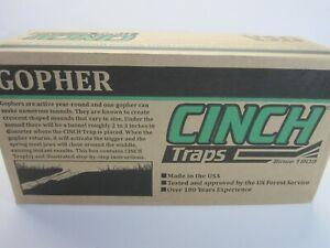 Cinch Gopher Trap with Tunnel Marking Flag (Small) SG-01 (NIB)