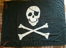 Bandiera da bastone Pirati Edward england nera 70x105cm
