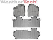 WeatherTech FloorLiner Floor Mat - Toyota Sienna 8 Passenger - 2011-2012 - Grey
