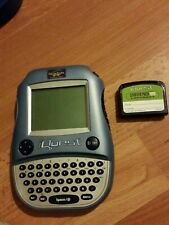 Quantum Leap iQuest handheld system and 1 cartridge handheld learning for kids