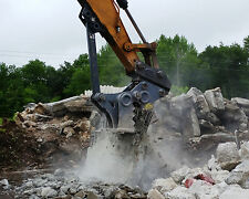 Strickland Excavator Concrete Pulverizer / Concrete Muncher model CP40