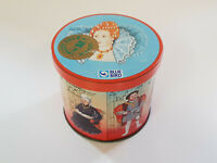 RARE VINTAGE Tin Blue Bird Toffees English Kings & Queens EXCELLENT CONDITION