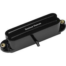 Seymour Duncan SHR-1b Bridge HotRails Strat SingleCoil Guitar Pickup Black