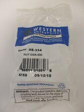 WESTERN ENTERPRISES STAINLESS STEEL 334 HEX NUT CGA-330