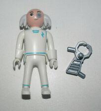 26889 Playmobil Homme Pirate Noir Blanc et Bleu Cheveux de Gouverneur Marron 668