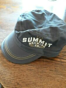 Summit Brewing military style cap new