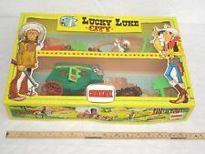 vintage Lucky Luke City - Kutsche / Figuren Packung von Comansi 1985