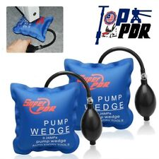 2pc Auto Air Wedge Airbag Repair Pump Tool Inflatable Car Door Window Lock Open