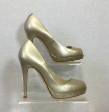 Stiletto Patent Leather Patternless Peep Toe Heels for Women