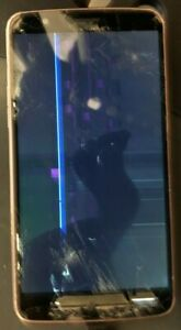 [BROKEN] LG Stylo 3 L83BL Gray (Unknown) Smartphone PARTS REPAIR LCD Cracked