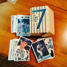 1982 Mickey Mantle 72 Card Set (15,000) Issued by Authentic Sports Autographs