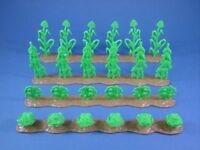 MARX FARM CIVIL WAR GETTYSBURG FARM CROP ROWS 4 Set Corn More NEW 1/32 FREE SHIP