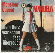 """MANUELA - 7"""" Single - Vinyl - Verschiedene Titel - gebraucht -"""