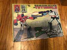 Transformers Toyworld Orion vs Hegemon TW01C Optimus And Megatron Ltd. Botcon
