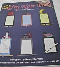 Nifty Notepads 16 Total Plastic Canvas Projects Plastic canvas Booklet #191