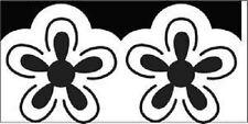 "Ek success grand déligneuse border punch hawaïen fleur EK54-50031 1.25"" x 2.5"""