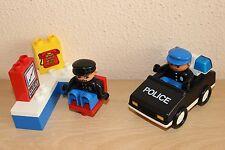 Lego Duplo Set 2654-1 Police Emergency Unit Vintage