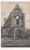 Jedburgh Abbey West Front Vintage Postcard  199a