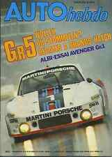 AUTO HEBDO n°82 du 29 Septembre 1977 BRANDS HATCH Gr5 SUMBEAM AVENGER