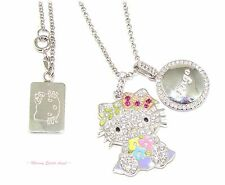 � Hello Kitty Diamonique Year Of Hello Kitty Pendant Necklace In Virgo ~New~ �