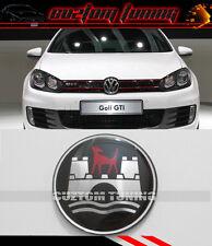 HIGH QUALITY VW DUB GOLF GTI JETTA WOLFSBURG STEERING WHEEL EMBLEM BADGE  45MM