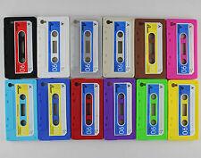 FUNDA SILICONA CASSETTE IPHONE 4 4S CARCASA CINTA CASETE RETRO VINTAGE CASE S G