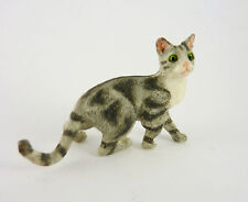 Dollhouse Miniature Cat Stopping, A4158GY