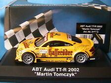 AUDI TT-R ABT #23 DTM 2002 MARTIN TOMCZYK HASSERODER SCHUCO 04814 1/43 ADAC