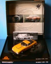 COFFRET ISO GRIFO 7 LITRI 1968 YELLOW MINICHAMPS 1/43