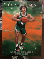 2019-20 Origins CARSEN EDWARDS Pink Rookie /75