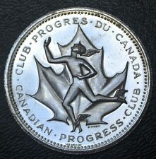 """1867-1967 CANADA PROGRESS CLUB MEDALLION - """"It is Great To Be a Canadian - Nice"""