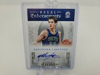 CHRISTIAN LAETTNER 2015-16 Panini Excalibur Regal Endorsements #'d 104/123