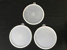 "Vintage Tupperware Lids #238-20 Size B Round 5 1/2"" Sheer Cereal Wonderlier"