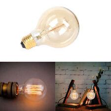 Edison E26 G80 Lamp Retro Glass 110V 40W Vintage Light Bulb Wedding Party Globe