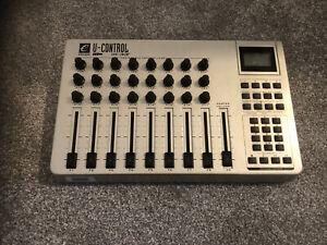 M-Audio U-control Uc-33 Evolution / UC33e USB midi controller