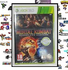 Mortal kombat komplete édition MICROSOFT XBOX 360° NEUF NEW VERSION FRANÇAISE.