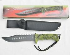 TAC XTREME survival knife TX-016GSC rubberized handle, nylon sheath; NIB