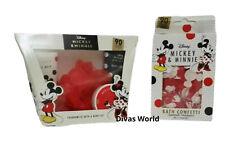 Disney Mickey & Minnie Fragranced Body Wash Fizzers & Bath Confetti Gift Set