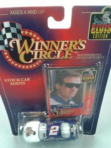 Winner's Circle NASCAR #2 Rusty Wallace Elvis Edition 1998 Taurus - NIP